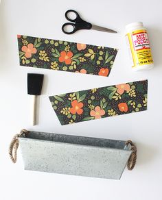 Easy Mother's Day Gifts - Tabletop Herb Garden Supplies