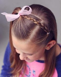 Simple half up style for big sis today! Go to this hashtag to see ALL the half up styles that I've done over the years // Simple half up style for big sis today! Go to this hashtag to see ALL the half up styles that I've done over the years // Girls Hairdos, Baby Girl Hairstyles, Princess Hairstyles, Easy Hairstyles, Black Hairstyles, Toddler Hairstyles, Toddler Hair Dos, Teenage Hairstyles, Hairdos For Little Girls