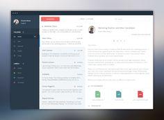 Mail app design #UX #UI