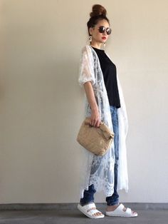 Yukie♡i|who's who Chicoのカバーオールを使ったコーディネート Asian Street Style, Japan Fashion, Everyday Outfits, Style Me, Look, Normcore, Denim, Formal, Stylish