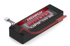 HX-580030C-BV2 LIPO Battery 5800mAh 30c 7.4V 2S