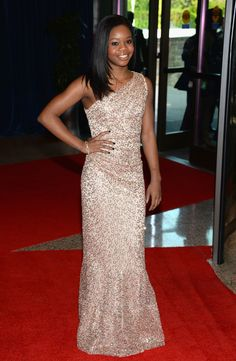 Gabby Douglas- love her dress!