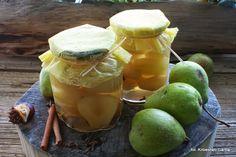 Gruszki Honeydew, Food Art, Pear, Dairy, Cheese, Fruit, Recipes, Ripped Recipes
