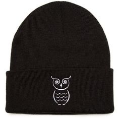 Custom Beanie with OWL Embroidered Beanie Hat (€18) ❤ liked on Polyvore featuring accessories, hats, beanie, embroidery hats, acrylic hat, embroidered beanie hats, embroidered hats and owl beanie