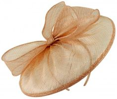 08b53d22 Failsworth Millinery Sinamay Disc in Rose-Gold