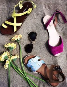 Summer Sandals-- THE YELLOW ONES