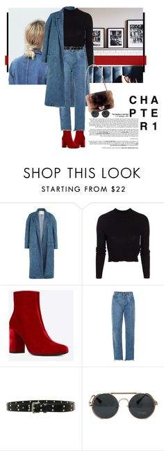 """""""Untitled #674"""" by danceaddict15 ❤ liked on Polyvore featuring Sandy Liang, ONLY, Yves Saint Laurent, Chloé and Michael Kors"""