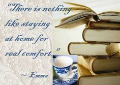 quote...there is nothing like staying at home, for real comfort.