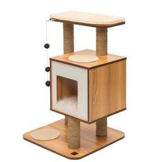 149€ Rascador Para Gatos Vesper V-Base Blanco - Rascadores para Gatos - FeelCats