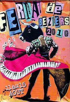 Béziers affiche féria 2010