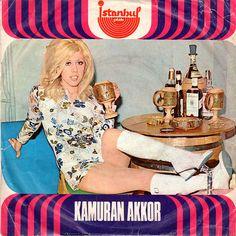 Kamuran Akkor - Kıskanç (İntizar) / İnmisin Cinmisin    İstanbul Plak, 9255  1973, Turkey  Side A: Kıskanç (İntizar)  Side B: İnmisin Cinmisin