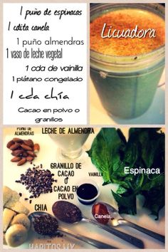 Smoothie saludable... #hábitosmx #hábitos #health #salud