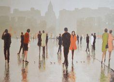 In the town square by Rimantas Virbickas