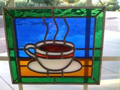 stained glass cup