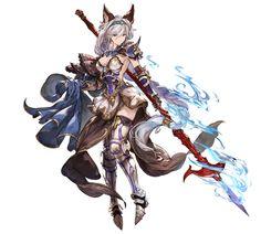images for anime girl fantasy Anime Warrior, Fantasy Warrior, Fantasy Girl, Female Character Design, Character Concept, Character Art, Neko, Female Characters, Anime Characters