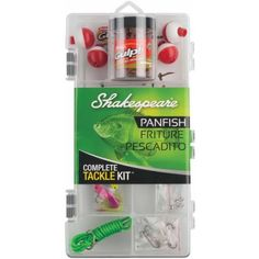 Shakespeare® Catch More Fish™ Panfish Walmart Usa, Shakespeare Fishing, Tackle Box, Mobile App, Kit, Products, Beauty Products