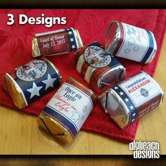 Eagle Scout Court of Honor Hersheys Nugget by DigileachDesigns