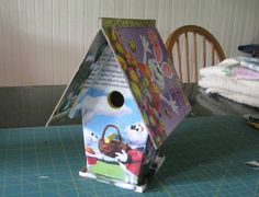 Peter Cottontail Golden Book Bird House - HOME SWEET HOME