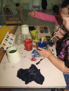 Recipe cards for mixing paints - Irresistible Ideas for play based learning » Blog Archive » dover street preschool – inside