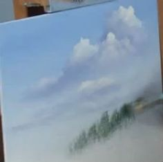 Learn how to paint cloud shadows with professional wildlife and landscape artist Wilson Bickford for an exciting free video art lesson.