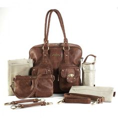 Who will take home this beautiful Timi & Lesli Convertible Collection Rachel Satchel - Caramel - Accessories