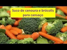 Sente cansaço extremo? Tome suco de cenoura e brócolis e ganhe nova energia!