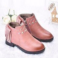best website d2740 c71f1 Chica Zapatos PU Otoño invierno Confort   Botas hasta el Tobillo Botas para  Negro   Rosa