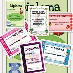 Recursos educativos: Diplomas para niños y para los alumnos