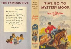 Five Go to Mystery Moor by Enid Blyton Book Cover Art, Book Art, Book Covers, Vintage Children's Books, Antique Books, Famous Five Books, Enid Blyton Books, Miniature Dollhouse Accessories, Doll House Crafts