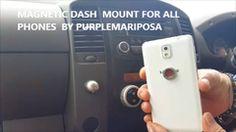Wireless MAGNETIC Car Cradle DASH/Dashboard/Windshield MOUNT PHONE HOL – PurpleMariposa