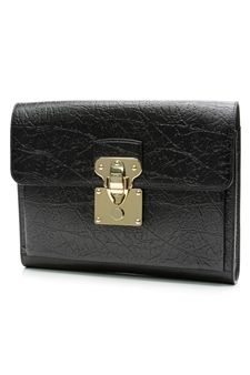 59456e5ac424 Louis Vuitton Limited Edition Black Calfskin Cuir Indra Portfolio- Our  Price   1