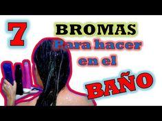7 Divertidas bromas para hacer en un Baño | BROMAS PESADAS | BROMAS DIVE...
