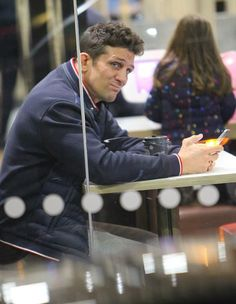 Alex Reid puts his head in his hands in McDonalds Hes currently embroiled in drama with ex-wife Katie Price who was accused of owning X-rated footage of him as his alter-ego Roxanne. And Alex Reid appeared in a state of stress on Tuesday as he grabbed a lonely late-night dinner at his local McDonalds. The cage fighter 42 was seen putting his head in his hands as he sipped on a coffee in the fast food joint after his ex 39 staunchly denied his revenge porn claims. Troubled: Alex Reid appeared in a state of stress on Tuesday as he grabbed a late-night dinner at his local McDonalds after ex Katie Price fiercely denied his claims of revenge porn Dejected:The cage fighter 42 was seen putting his head in his hands as he sipped on a coffee in the fast food joint The former Celebrity Big Brother winner cut a deflated figure as he spent an evening in the eatery mostly with his head in his hands as he checked his phone. The actor sported loose-fitting grey tracksuit bottoms a padded jacket and trainers as he picked up some fast food after a stressful few days involved with the police. While he appeared stressed at the table Alex appeared to have picked himself up later on as he headed home with a smile on his face and a coffee in hand. Not happy:The former Celebrity Big Brother winner cut a deflated figure as he spent an evening in the eatery mostly with his head in his hands as he checked his phone Comfortable: The actor sported loose-fitting grey tracksuit bottoms and a padded jacket Alex seemed dejected during his lonely dinner amid hiscontinuous drama with Katie Price. The Loose Women presenter has been accused of showing complete strangers an alleged X-rated video of cross-dresser Alex as his alter-ego Roxanne while making a special guest appearance on Celebrity Big Brothers Bit On The Side. Its understood the police were subsequently called by Reid and they had been in touch with Katie over revenge porn claims. Low-key: He tied his look together with trainers keeping co
