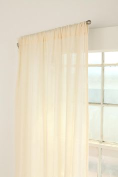 Swing Curtain Rod - Set of 2: perfect for that bay window behind the kitchen sink