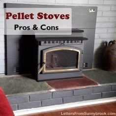 Pellet stoves are a clean, efficient and economical choice of heat. But is buying a pellet stove the right option for you? We weigh the pros and cons. (Sitting Is The New Smoking Tips) Alaska Cabin, Wood Pellet Stoves, Heating Furnace, Wood Pellets, Fireplace Design, Wood Fireplace, Keeping Room, Lake Cottage, Great Rooms