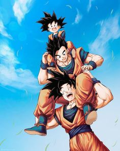 's post 🦋 𝔸𝕟𝕚𝕞𝕖 : Dragon Ball Z ℂ𝕒𝕣𝕒𝕔𝕥𝕖𝕣 : Goku's Family Dragon Ball Gt, Dragon Ball Image, Gohan And Goten, Videl Dbz, Dbz Vegeta, Dbz Wallpapers, Christmas Dragon, Funny Dragon, Frank Zhang