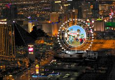 Las Vegas Skyvue Super Ferris Wheel To Feature More Than 50,000 Square Feet of High-Definition Digital Signage on Each Side