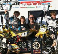 Mark Cramer with winning team at Lorettas: Sean Cantrell and Lance Kobusch
