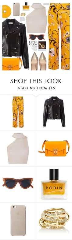 """""""upper class"""" by valentino-lover ❤ liked on Polyvore featuring Emilio Pucci, Yves Saint Laurent, Cushnie Et Ochs, Proenza Schouler, CÉLINE, Polaroid, Rodin and SPINELLI KILCOLLIN"""