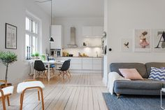 living space - Ikea Voxtorp