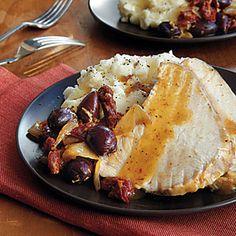 105 Slow-Cooker Favorites   Mediterranean Roast Turkey   CookingLight.com