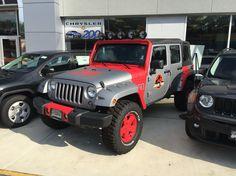 Jeep Wrangler JK Jurassic Park edition