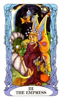 November 8 Tarot Card: The Empress (Moon Garden deck) Your mind, heart, and spirit are flourishing. Whatever you do now, do it with love