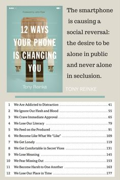 12 Ways Your Phone Is Changing You - Book review