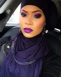 Makeup to Match Hijab