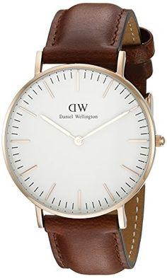 Daniel-Wellington-Damen-Armbanduhr-Analog-Quarz-Leder-DW00100035