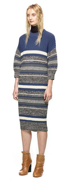 Longline Knitted Dress