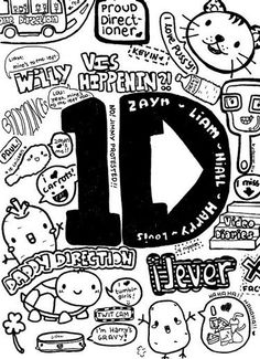 one direction coloring pages for girls | One Direction Band Col