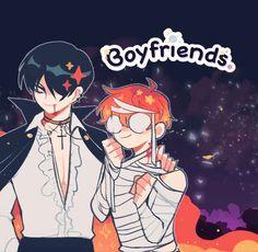 Yandere Manga, Anime Manga, Little Big Planet, Webtoon Comics, 2d Character, Kawaii Art, Fb Memes, Art Reference Poses, Boyfriend Girlfriend