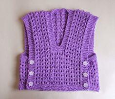 Knitting Baby Vest FREE Melika Lacy Baby Vest Top pattern by marianna mel Baby Knitting Patterns, Knitting Blogs, Baby Hats Knitting, Knitting For Kids, Baby Patterns, Knitted Hats, Free Knitting, Crochet Patterns, Toddler Vest